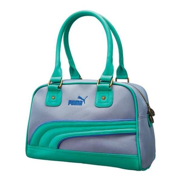 c2875b957f Shop PUMA Women s Foundation Handbag Gray Green - US Women s One Size (Size  None) - Free Shipping Today - Overstock - 11818033