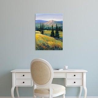 Easy Art Prints Tim OToole's 'Purple Mountain Majesty II' Premium Canvas Art