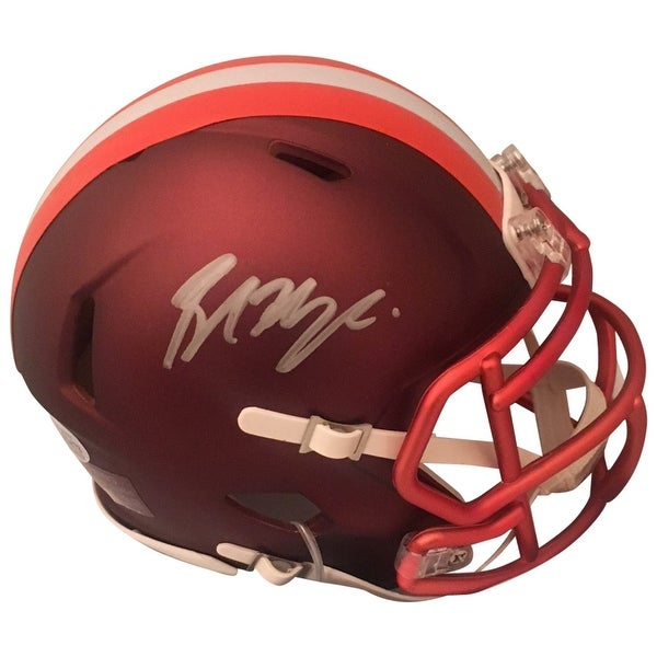 Shop Baker Mayfield Autographed Cleveland Browns Signed Blaze Football Mini  Helmet Beckett COA - Free Shipping Today - Overstock - 22390310 13d0b5c7a