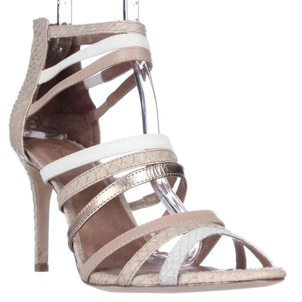 Joie Zee Multi-Strap Dress Sandals, Nude Multi