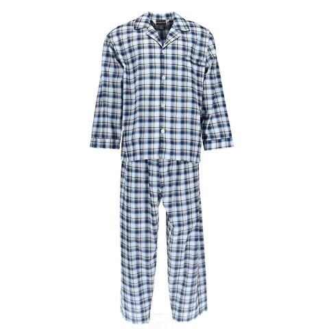Botany 500 Men's Long Sleeve Long Leg Pajama Set