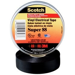 3M 3/4 x 66' Super 88(TM) Vinyl Electrical Tape Adhesives and Tape