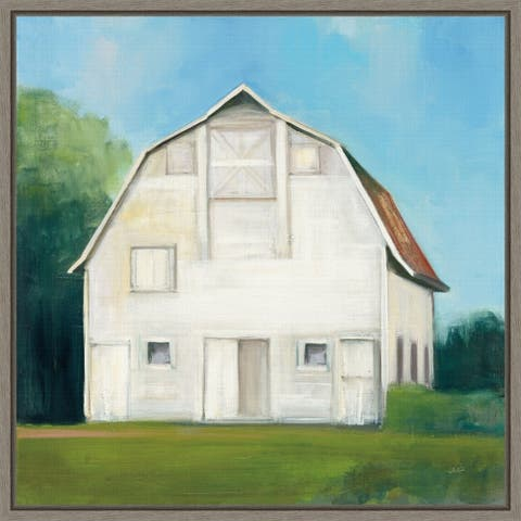 Farm Heritage by Julia Purinton Framed Canvas Art