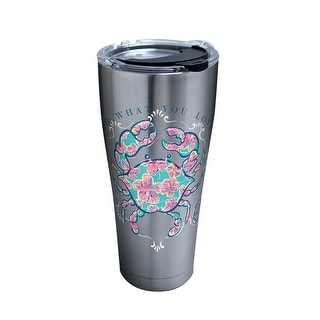 Simply Southern Crab 30 oz Stainless Steel Tumbler with lid