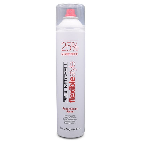 Paul Mitchell Flexible Style Super Clean Spray 10 oz (25% more free 12.5 oz)