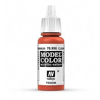 Vallejo Acrylic Paint, Clear Orange