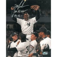 Dwight Gooden signed New York Yankees 8x10 Photo No Hitter 51496