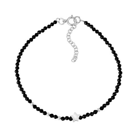 Handmade Versatile Night Star Sterling Silver Charm Bracelet (Thailand)