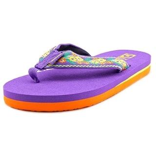 Teva Mush II Open Toe Canvas Flip Flop Sandal
