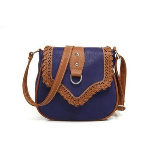 Crossbody Hollow Out Pu Leather Messenger Bags