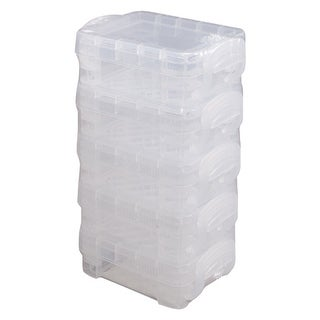 Storage Studios Super Stacker Bitty Boxes 5/Pkg