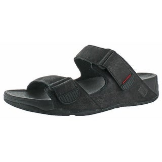 6b4062dba1b6c Shop FitFlop Gogh Men s Adjustable Buckle Slide Sandals - Free Shipping On  Orders Over  45 - Overstock - 20636496