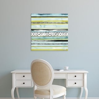 Easy Art Prints Grace Popp's 'Blanket Abstract II' Premium Canvas Art