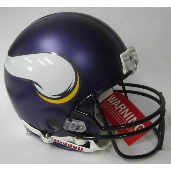 Shop Minnesota Vikings Riddell Full Size Authentic Proline Football Helmet  - Free Shipping Today - - 12267275 b294ce81c