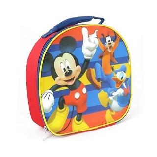 Disney Boys Mickey Mouse Soft Lunch Box