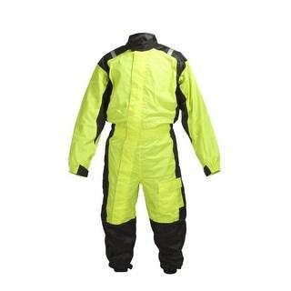 Overstock Motorcycle Biker One Piece Rain Suit RN1-1