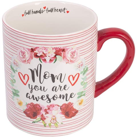 Birthday Gifts for Mom Extra Large Coffee Mug - Ceramic Cute Mug Holds 61 Oz