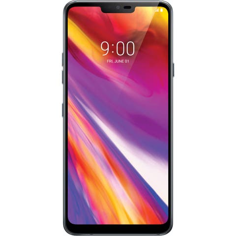 LG G7 ThinQ G710 64GB Unlocked GSM Phone w/ Dual 16MP Camera's - New Platinum Gray (Certified Refurbished)