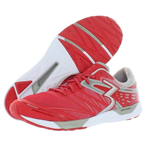 361 Degrees Chaser Mens Red Mesh Low Top Lace Up Athletic Running Shoes