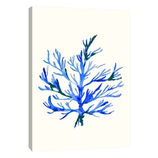 "PTM Images 9-108708  PTM Canvas Collection 10"" x 8"" - ""Ultramarine Growing 2"" Giclee Corals Art Print on Canvas"