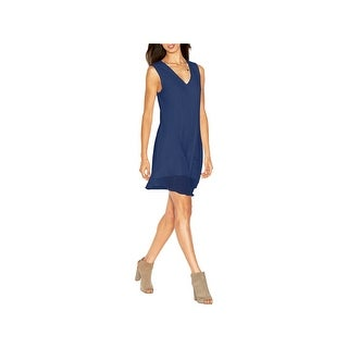 Rachel Rachel Roy Womens Juniors Party Dress Chiffon V-Neck