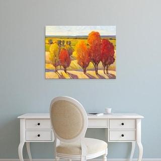 Easy Art Prints Tim OToole's 'Day Glow I' Premium Canvas Art