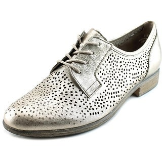 Gabor 21.401 Women Round Toe Leather Gold Oxford