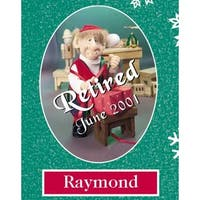 "10"" Zims The Elves Themselves Raymond Collectible Christmas Elf Figure"