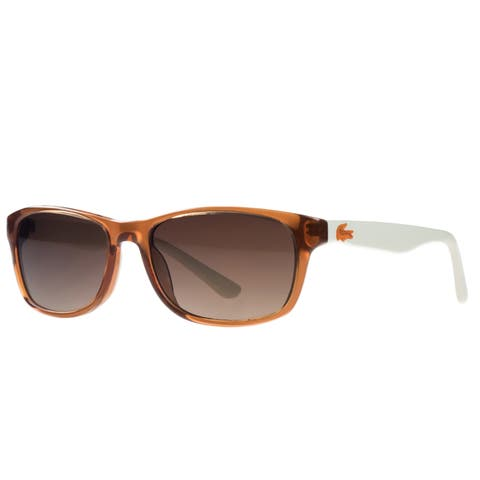 Lacoste L3601/S 223 Rust Rectangle Kids Sunglasses - 50-16-130