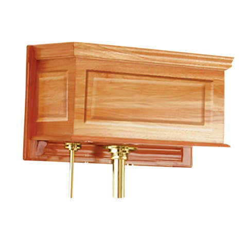 Toilet Part Light Oak Raised Panel Replacement Tank Only Renovator's Supply