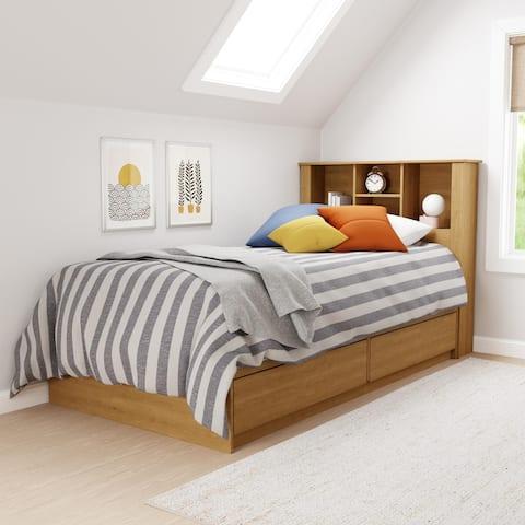 Brookside Sadie Wood Twin Storage Bed