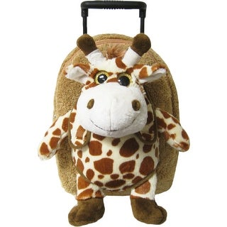 Kreative Kids Unisex Brown Giraffe Plush Roller - One size