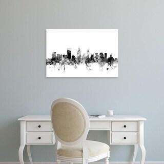 Easy Art Prints Michael Tompsett's 'Perth Australia Skyline' Premium Canvas Art