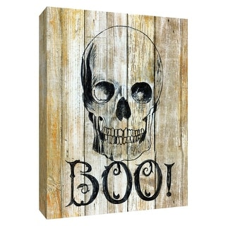 "PTM Images 9-148570  PTM Canvas Collection 10"" x 8"" - ""Boo"" Giclee Halloween Art Print on Canvas"