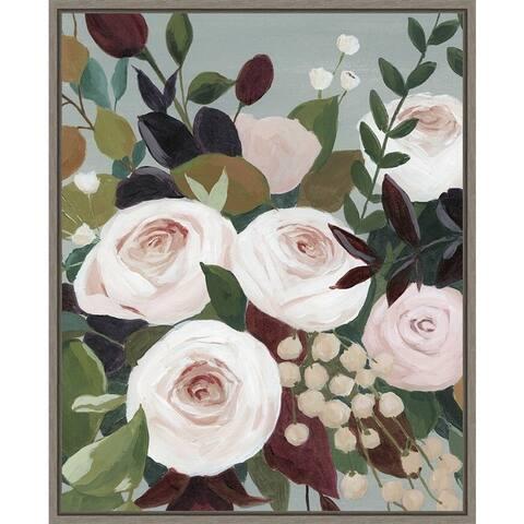 Bohemian Blooms I by Grace Popp Framed Canvas Art