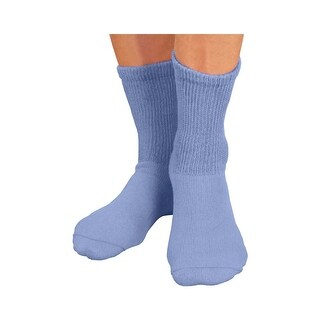 Women's 3 Pack Sensitive Feet Crew Socks - Medium