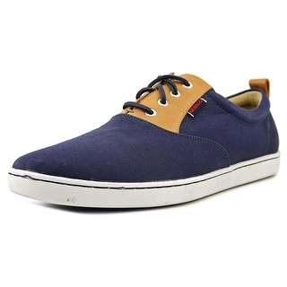 Sebago Ryde Lace Up Round Toe Canvas Sneakers