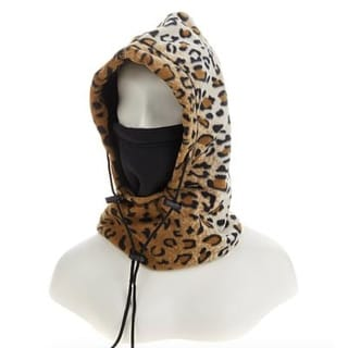 Link to ARCTIC-X 6-in-1 Fleece Hood One Size Fits All - Brown Leopard - Brown/Black - One Size Similar Items in Athletic Clothing