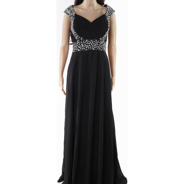 Shop Wedding Dress Black Womens Size Large L Embellished