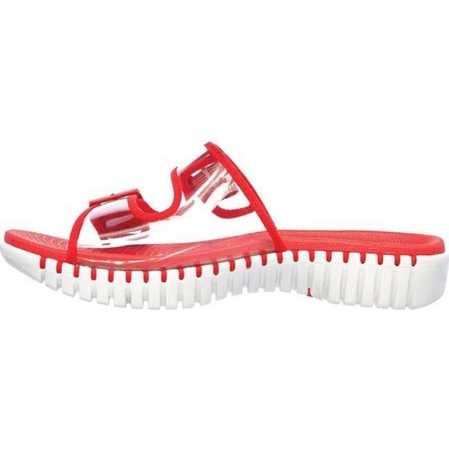 Skechers Women's GOwalk Smart Miami Slide Sandal Red