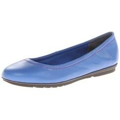 Rockport Women's Total Motion Ballet Flat,Princess Blue,10.5 M US - 10.5