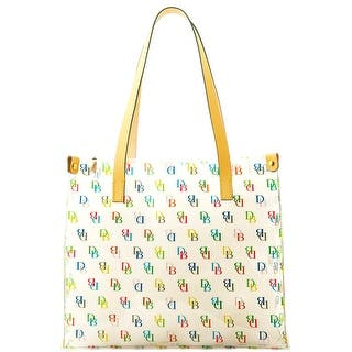 Dooney & Bourke It Medium Shopper (Introduced by Dooney & Bourke at $68 in Jul 2011) - CLEAR|https://ak1.ostkcdn.com/images/products/is/images/direct/b77c32b5b2e3532439d387c6da82ad7f7d2fb61d/Dooney-%26-Bourke-It-Medium-Shopper.jpg?impolicy=medium