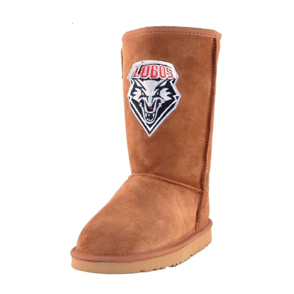 Gameday Boots Womens University New Mexico Roadie Hickory UNM-RL1036-1
