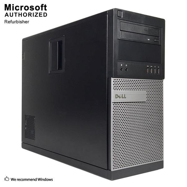 Dell 7010 TW Intel Core i5 3470 3.20GHz, 12GB RAM, 3TB HDD, DVD, WIFI, BT 4.0, VGA, HDMI DP, WIN10P64(EN/ES)-Refurbished