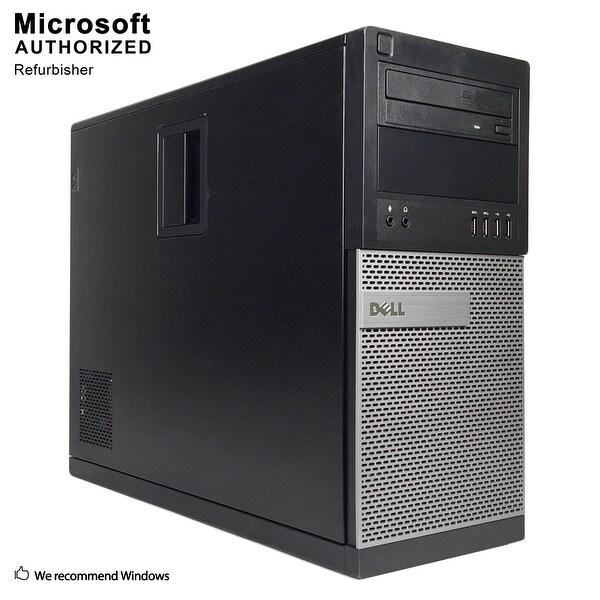 Dell 7010 TW Intel Core i5 3470 3.20GHz, 8GB RAM, 120GB SSD + 2TB HDD, DVD, WIFI,BT 4.0,VGA,HDMI,DP,WIN10P64(EN/ES)-Refurbished
