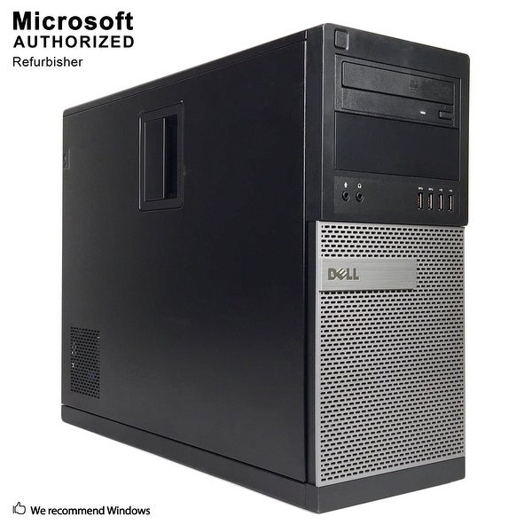 Dell 9020 TW Intel Core i5 4570 3.20GHz, 16GB RAM, 360GB SSD, DVD, WIFI, BT 4.0, VGA, HDMI DP, WIN10P64(EN/ES)-Refurbished