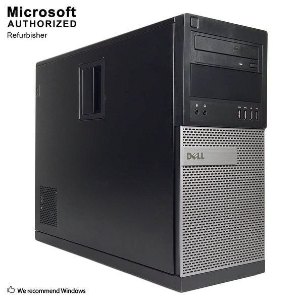 Dell OptiPlex 9020 TW Intel Core i5 4570 3.20GHz, 8GB RAM, 120GB SSD + 3TB HDD, DVD, WIFI, BT 4.0, VGA, HDMI DP, WIN10P64(EN/ES)