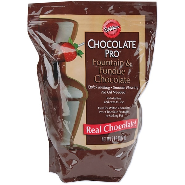 Chocolate Pro Fountain & Fondue Wafers 2lb-Chocolate