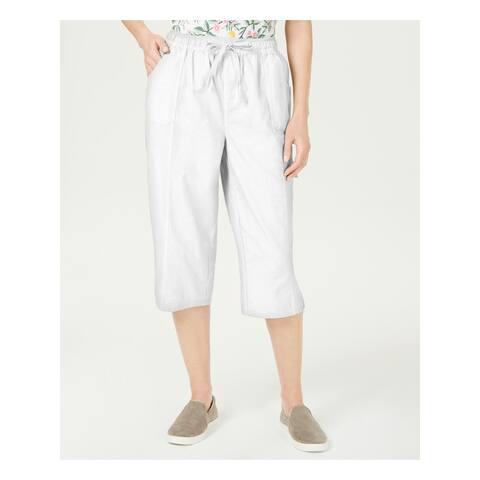 KAREN SCOTT Womens White Pants Size PL