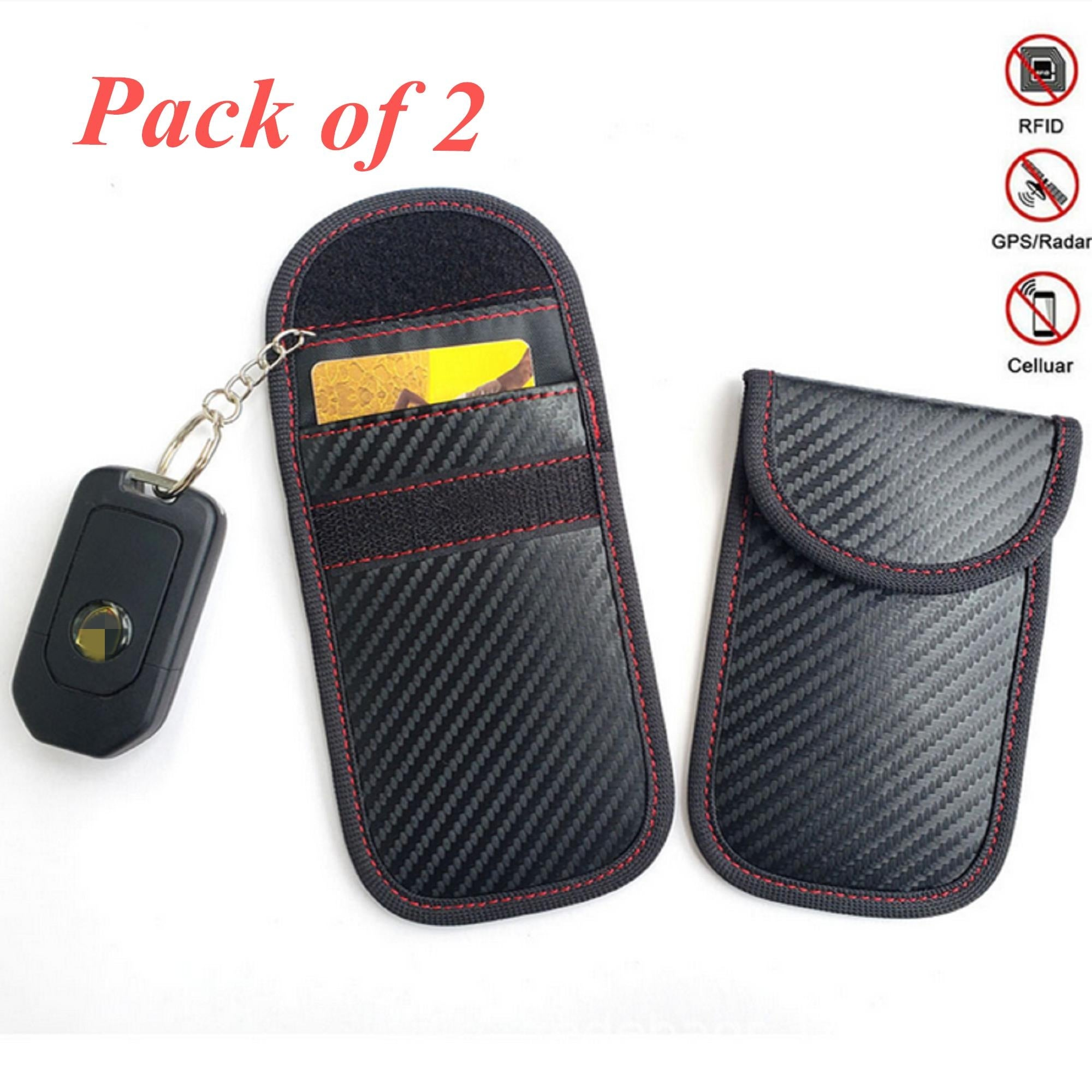 Car key bag Credit Card Blocker Car Key Signal Blocker faraday Cage Anti Theft